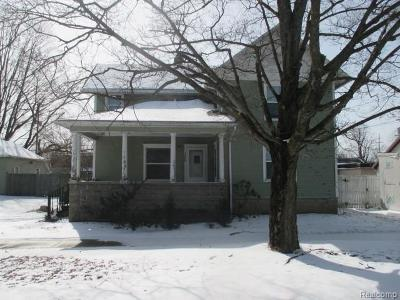 Springport Single Family Home For Sale: 120 Grand St