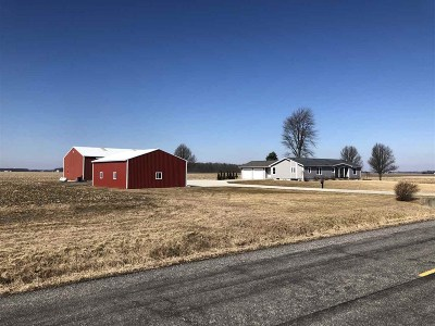 Lenawee County Single Family Home Contingent - Financing: 6592 Rodesiler
