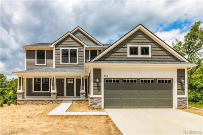 Milford Single Family Home For Sale: 509 Heritage Ridge Dr