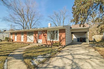 Ann Arbor Single Family Home Contingent - Financing: 2715 Canterbury Rd