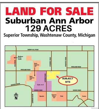 Ypsilanti MI Residential Lots & Land For Sale: $490,922