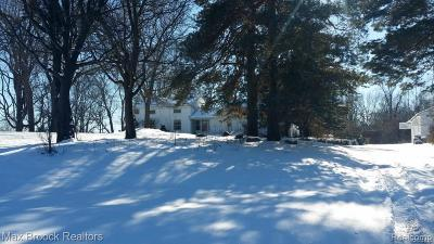 West Bloomfield Single Family Home For Sale: 7405 W Maple Rd