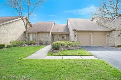 Farmington Hill Condo/Townhouse For Sale: 29524 Nova Valley Dr