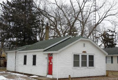 Single Family Home For Sale: 4977 Woodward Ave