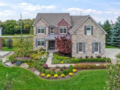 Northville Single Family Home For Sale: 46400 Crystal Downs W