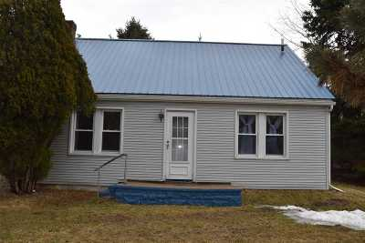 Lenawee County Single Family Home For Sale: 1195 W Cadmus Rd