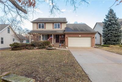 Livonia Single Family Home For Sale: 14644 Merriman Rd