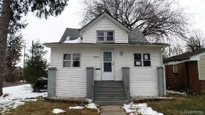 Single Family Home For Sale: 18314 Wormer St