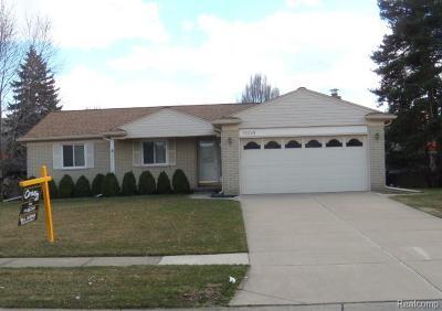 Livonia Single Family Home For Sale: 37249 Bennett St