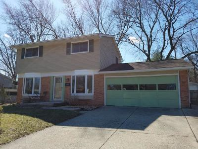 Ann Arbor Single Family Home For Sale: 1157 Wendy Ct