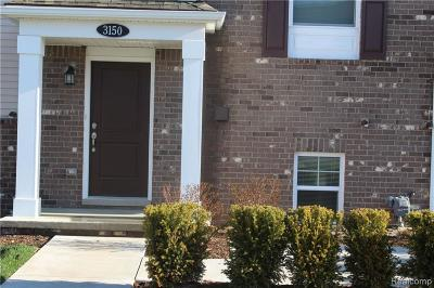 Wixom Condo/Townhouse For Sale: 3150 Johanna Ware West W