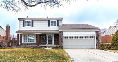 Livonia Single Family Home For Sale: 35542 Leon St