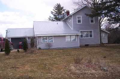 Lenawee County Single Family Home For Sale: 12147 Clement