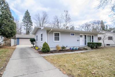 Ann Arbor Single Family Home For Sale: 1206 Morningside Dr
