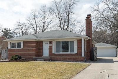Ann Arbor Single Family Home For Sale: 1488 Marian Ave