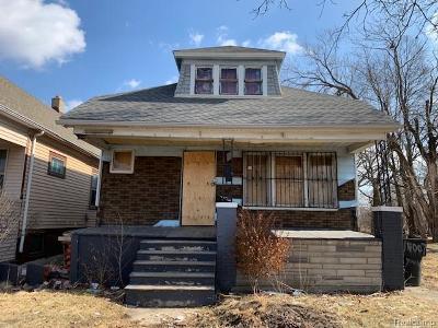 Single Family Home For Sale: 4726 Hurlbut St