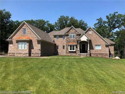 Milford Single Family Home For Sale: 12295 Boulder Pass