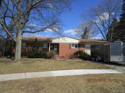 Single Family Home For Sale: 29000 Barkley St