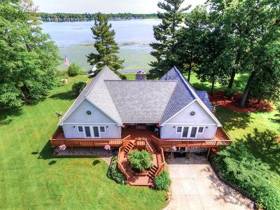 Grass Lake Single Family Home For Sale: 399 Goose Lake Rd