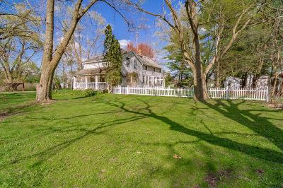 Dexter Single Family Home For Sale: 1770 N Lima Center Rd
