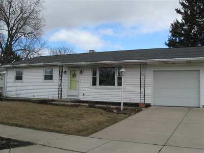 Lenawee County Single Family Home For Sale: 1008 E Brookside