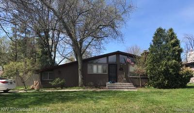Single Family Home For Sale: 318 Holmur Dr