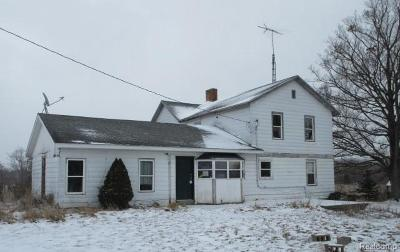 Single Family Home For Sale: 3800 18 1/2 Mile Rd