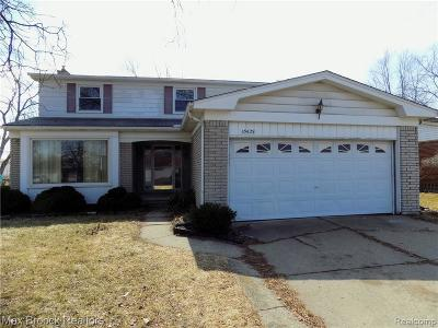 Southfield Single Family Home For Sale: 15629 Pennsylvania St