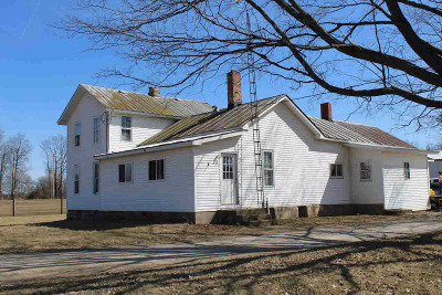Hillsdale Single Family Home For Sale: 3131 W Reading Rd