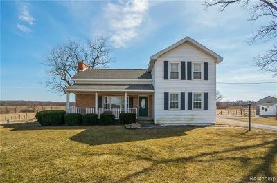Adrian MI Single Family Home For Sale: $284,900