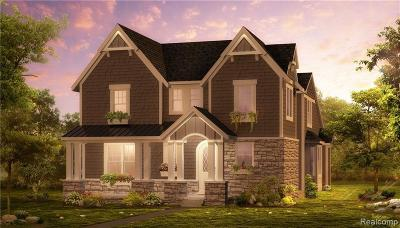 Northville Single Family Home For Sale: Randolph St