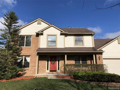 Novi Single Family Home Contingent - Financing: 22184 Antler Dr