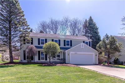 West Bloomfield Single Family Home For Sale: 6683 Windmill Ln