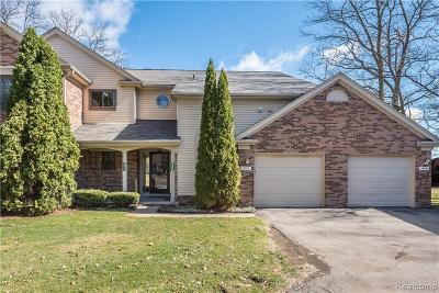 Farmington Hill Condo/Townhouse For Sale: 29511 Pine Ridge Cir