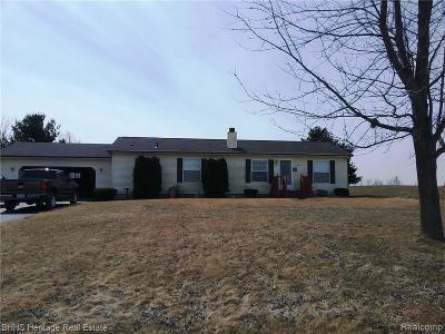 Webberville Single Family Home For Sale: 11595 Sober Rd