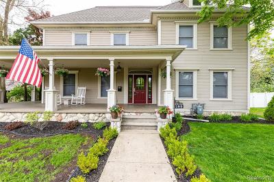 Belleville Single Family Home For Sale: 185 E Huron River Dr