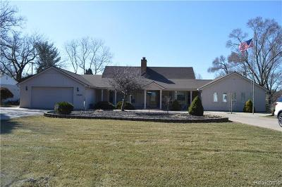 Plymouth Single Family Home For Sale: 48975 N Territorial Rd