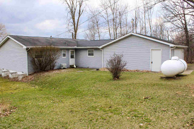 Hillsdale Single Family Home For Sale: 4855 Fitzpatrick Rd