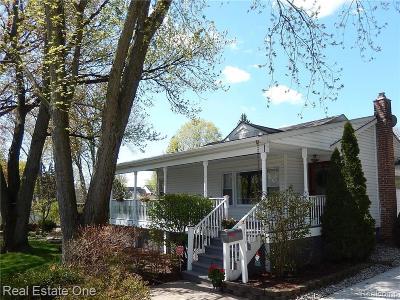 Northville Single Family Home For Sale: 729 Horton St