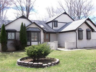 West Bloomfield Single Family Home For Sale: 6267 Marshview Ln