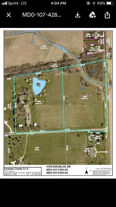 Adrian MI Residential Lots & Land For Sale: $44,900