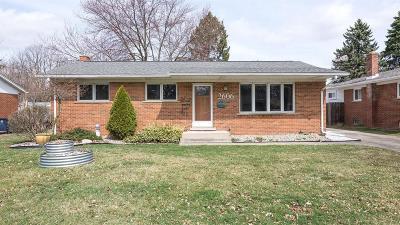 Ann Arbor Single Family Home For Sale: 2606 Pamela Ave
