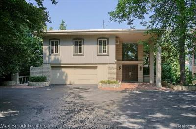 Single Family Home For Sale: 3560 Wards Point Dr