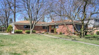 Ann Arbor Single Family Home Contingent - Financing: 2875 Pebble Creek Dr
