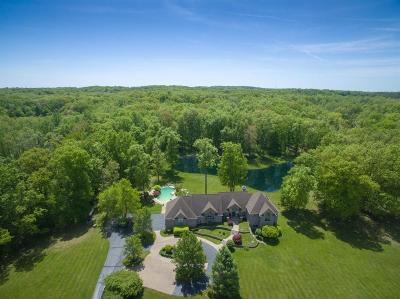 Single Family Home For Sale: 18591 Grass Lake Rd