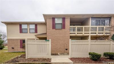 South Lyon Condo/Townhouse For Sale: 61118 Greenwood Dr