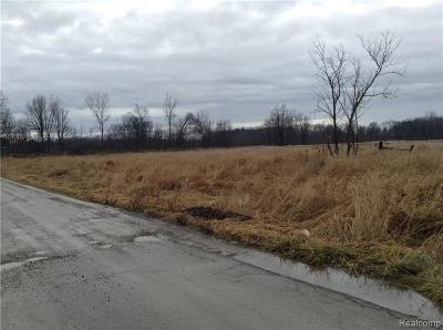 Addison MI Residential Lots & Land For Sale: $80,000