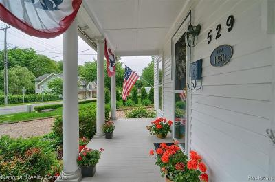 Northville Single Family Home For Sale: 529 Randolph St