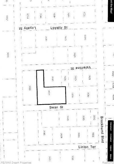 Residential Lots & Land For Sale: 5650 Swan St