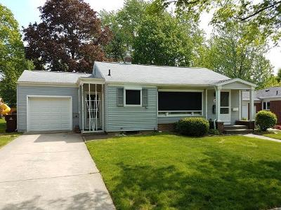 Ann Arbor Single Family Home For Sale: 941 Sherwood